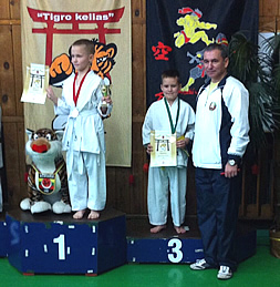 "Международный турни Baltic states XI International shotokan karate tournament ""TIGER WAY"" (Каунас, 15 ноября 2014 г.)"